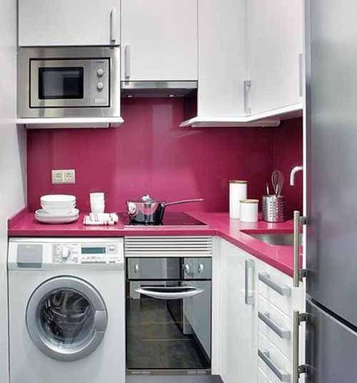 маленькая кухня | Nhà bếp | Pinterest | Kitchens, Interiors and ...