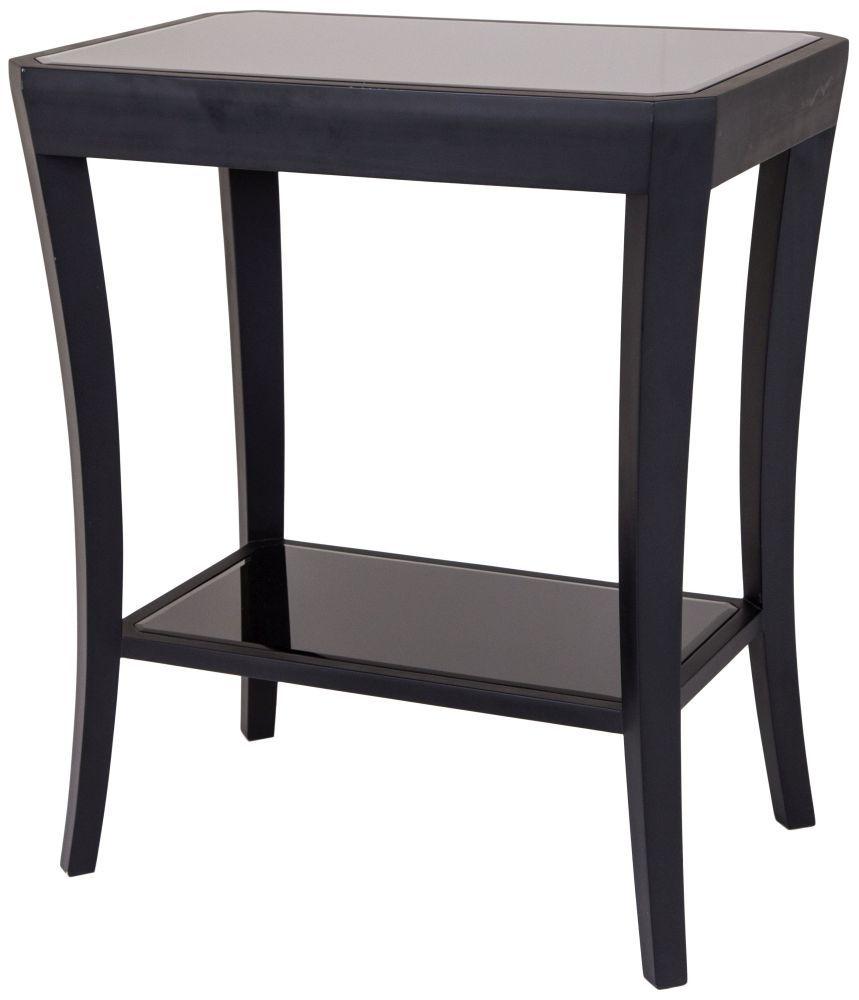 Ordinaire RV Astley Hyde Black Side Table