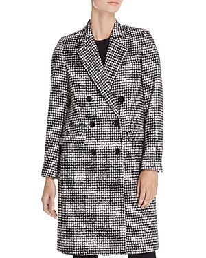 THE KOOPLES MARK GRAPHIC HOUNDSTOOTH-STYLE COAT.  thekooples  cloth ... 0c93fa1cdd4f