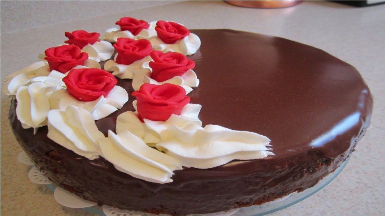 كيكة الشوكولاته الاسفنجية سهلة وسريعة Desserts Cake Food