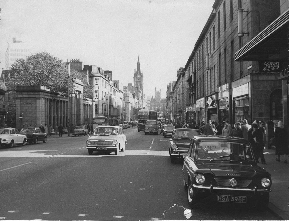 Union Street 1960-70 (With images) | Aberdeenshire, City by the ...