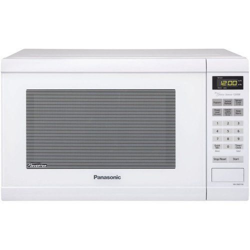 Panasonic Nn Sn651w Genius 1 2 Cuft 1200 Watt Sensor Microwave W
