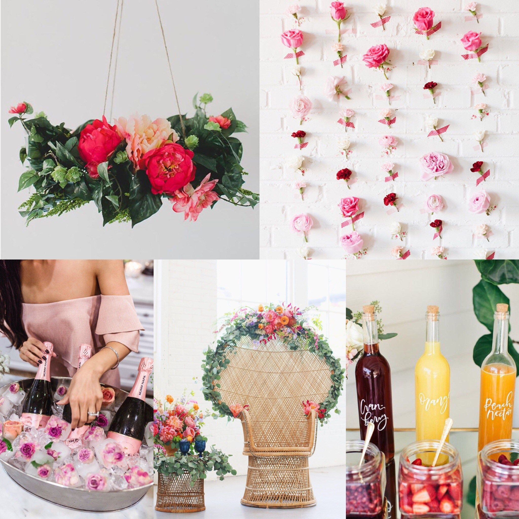 Hot + Chic Bridal Shower Theme Inspiration From Our Bridal Blogger ...