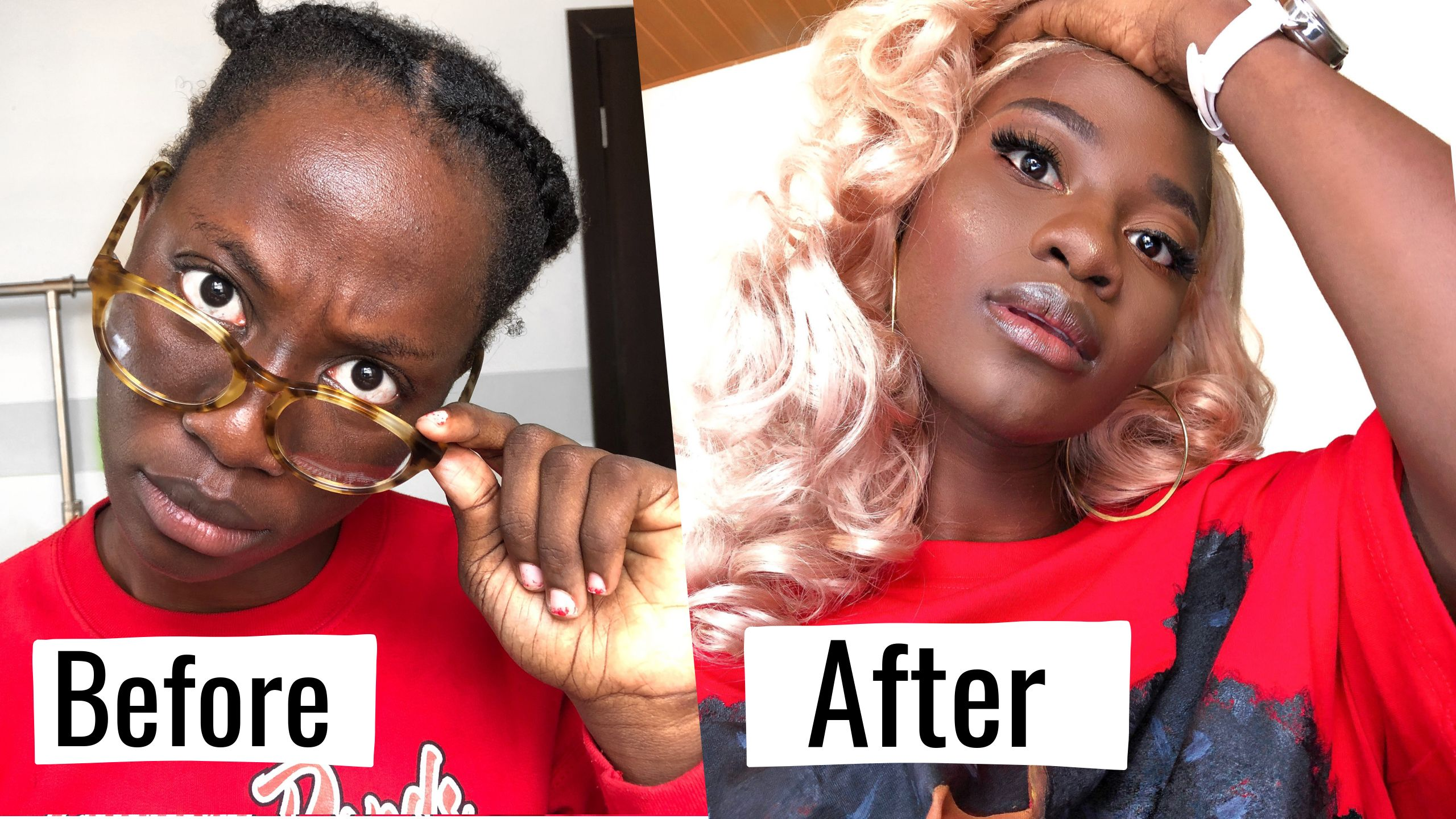 New Year New Me 24 Hour Transformation Extreme Glow Up Challenge 2019 Ft Alipearl Hair Youtube Extreme Glow Instagram Makeup New Year New Me