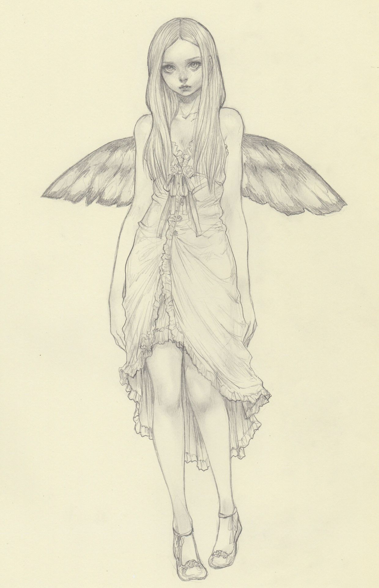 Jasmin Darnell Yasahime Dibujo Personajes Dibujos Ilustraciones