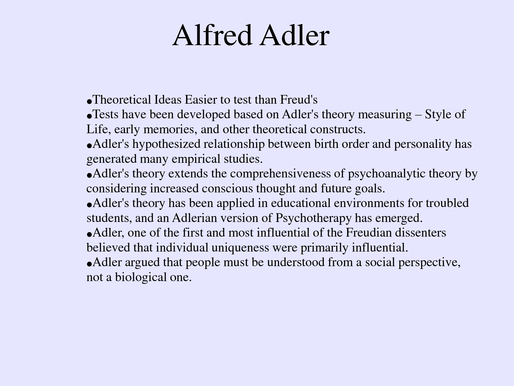 Alfred Adler Charts Alfred Adler Birth Order Chart Adler