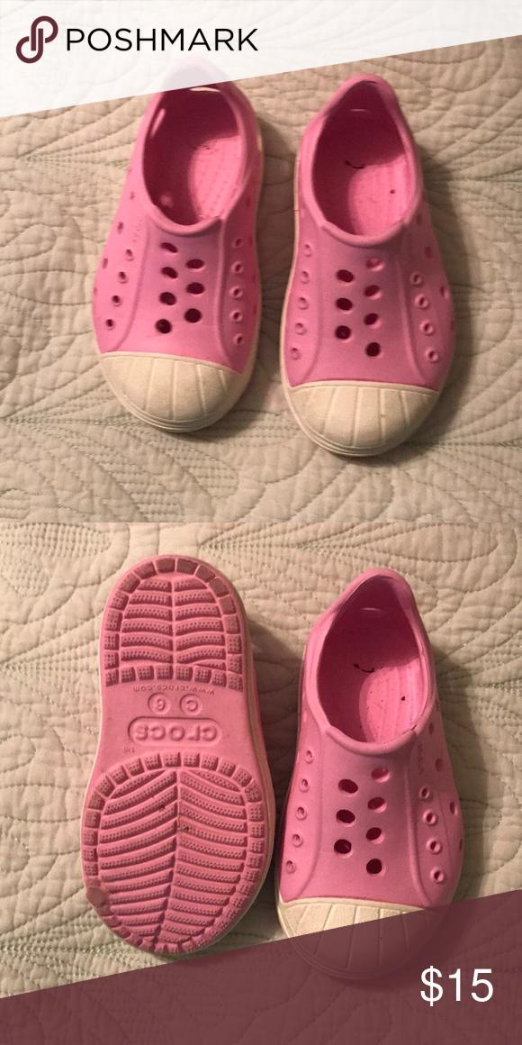 e7d5ee1b3cf Crocs Bumper Toe Shoe Kids