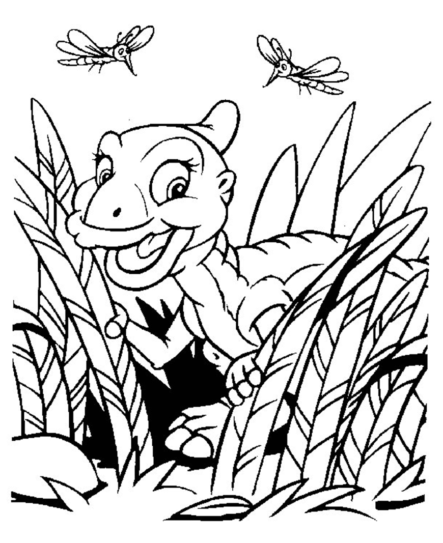 Land Before Time coloring page | Coloring pages and Printables ...
