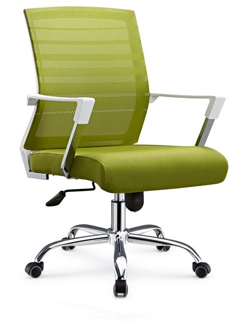 Commercial Office Furniture Made In China Mesh Design Staff Task Armrest  Chair With Casters   China