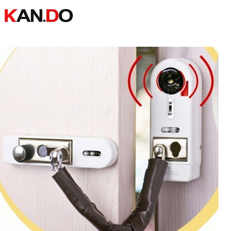 2pcs Lot Anti Entry Door Alarm Magnetic Sensor Wireless Burglar Alarm Windows Sensor Alarm With Lock Function Affili Burglar Alarm Door Alarms Security Alarm