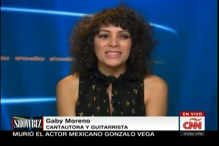 Entrevista Exclusiva a Gaby Moreno cantautora y guitarrista guatemalteca, quien nos habla del estreno de ¨ Ilusión ¨ su nuevo material…