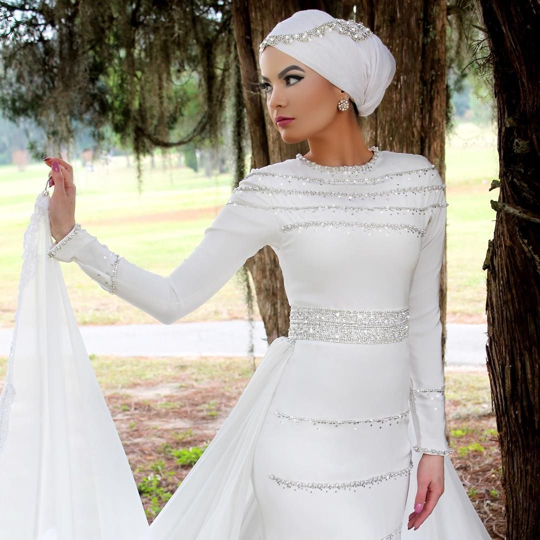 Venezuelan palestinian snapchat omayazein subscribe to for Wedding dresses for muslim brides