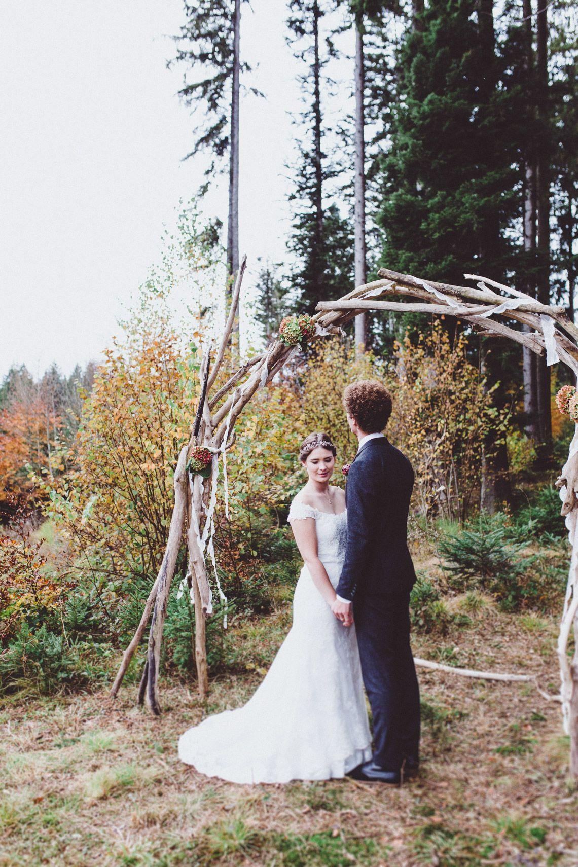 Hochzeit zu zweit mit baby