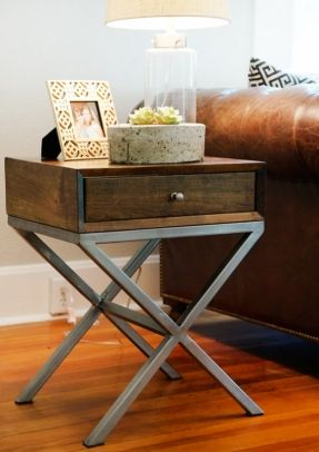 Wrought Iron Foyer Table Ideas On Foter Modern End Tables Bedroom Night Stands Metal Nightstand