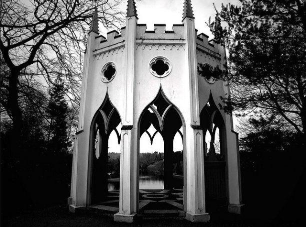 Gothic Temple, Painshill Park, Surrey