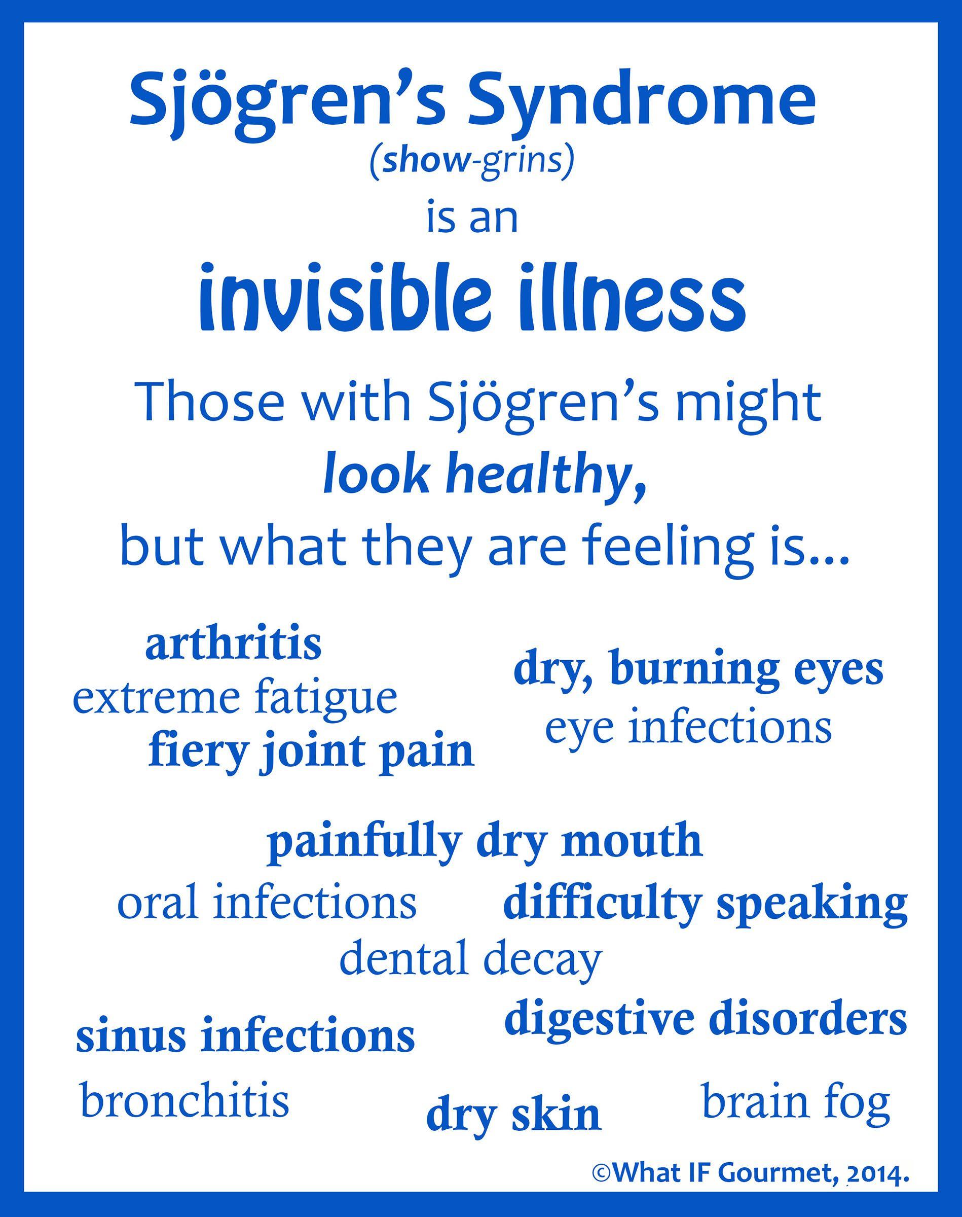 Autoimmune Disease Checklist -- A Handy List of Symptoms ...
