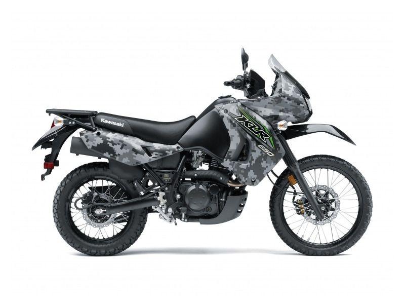 2018 Kawasaki KLR650 Camo LIFESTYLE The KLR650 is a