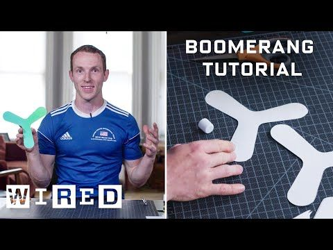 How to Make and Throw an Indoor Boomerang WIRED Amazon