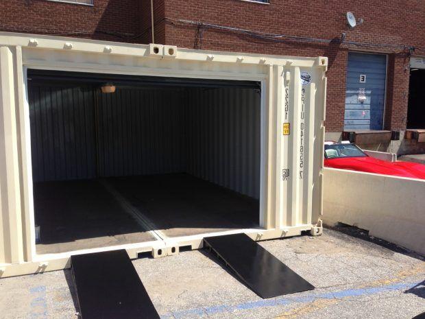Garagen Container design shipping container garage garage floor paint ideas shipping