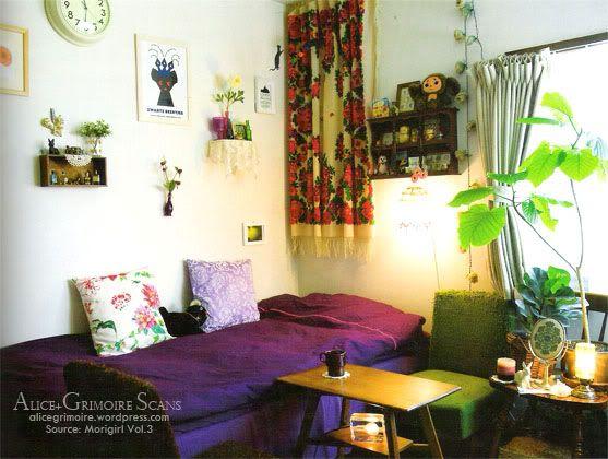 Mori girl room decor