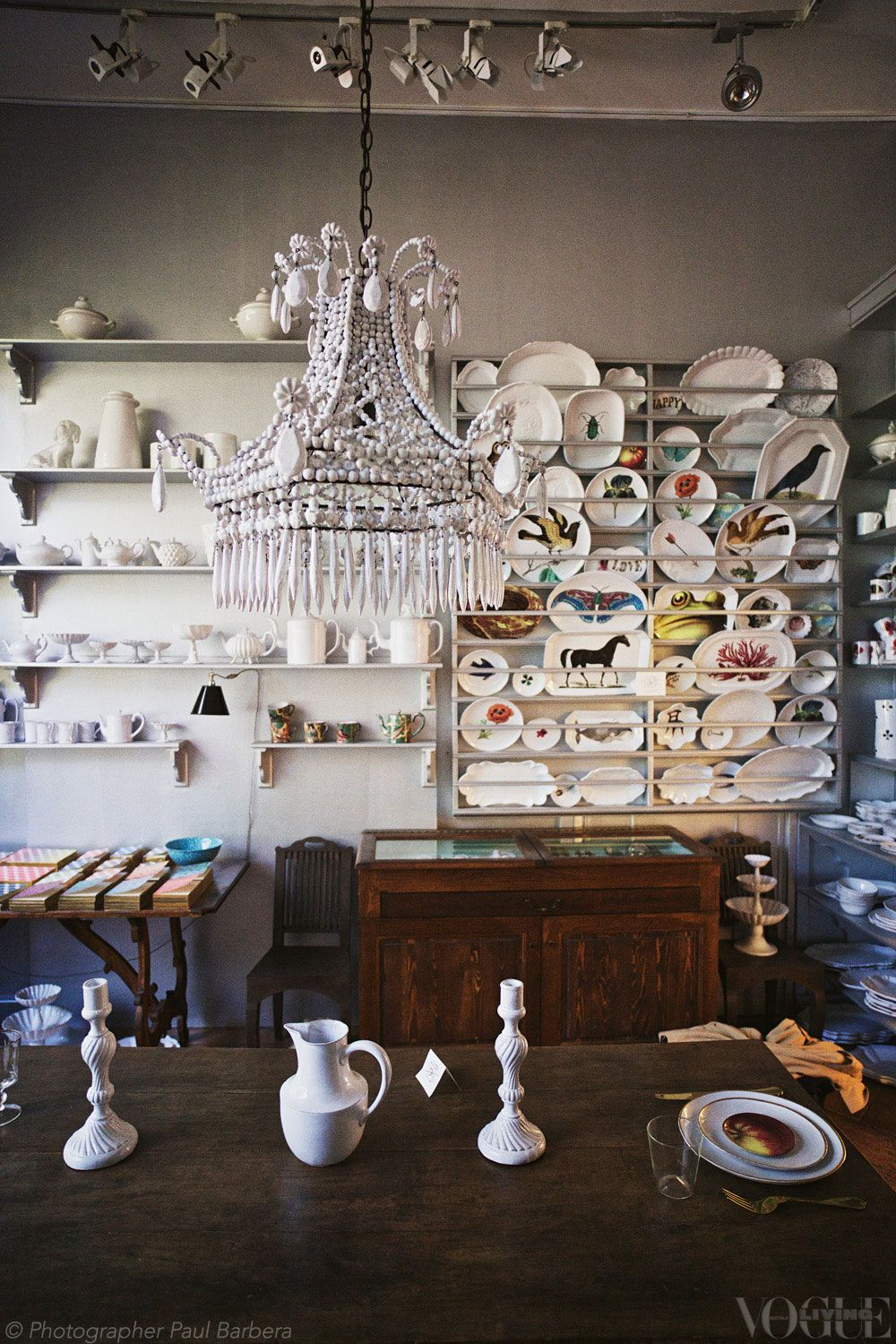 Voguelivingmagazine vogue living milan and collection plates by john derian were among the astier de villatte collection at spazio rossana orlandi at arubaitofo Images