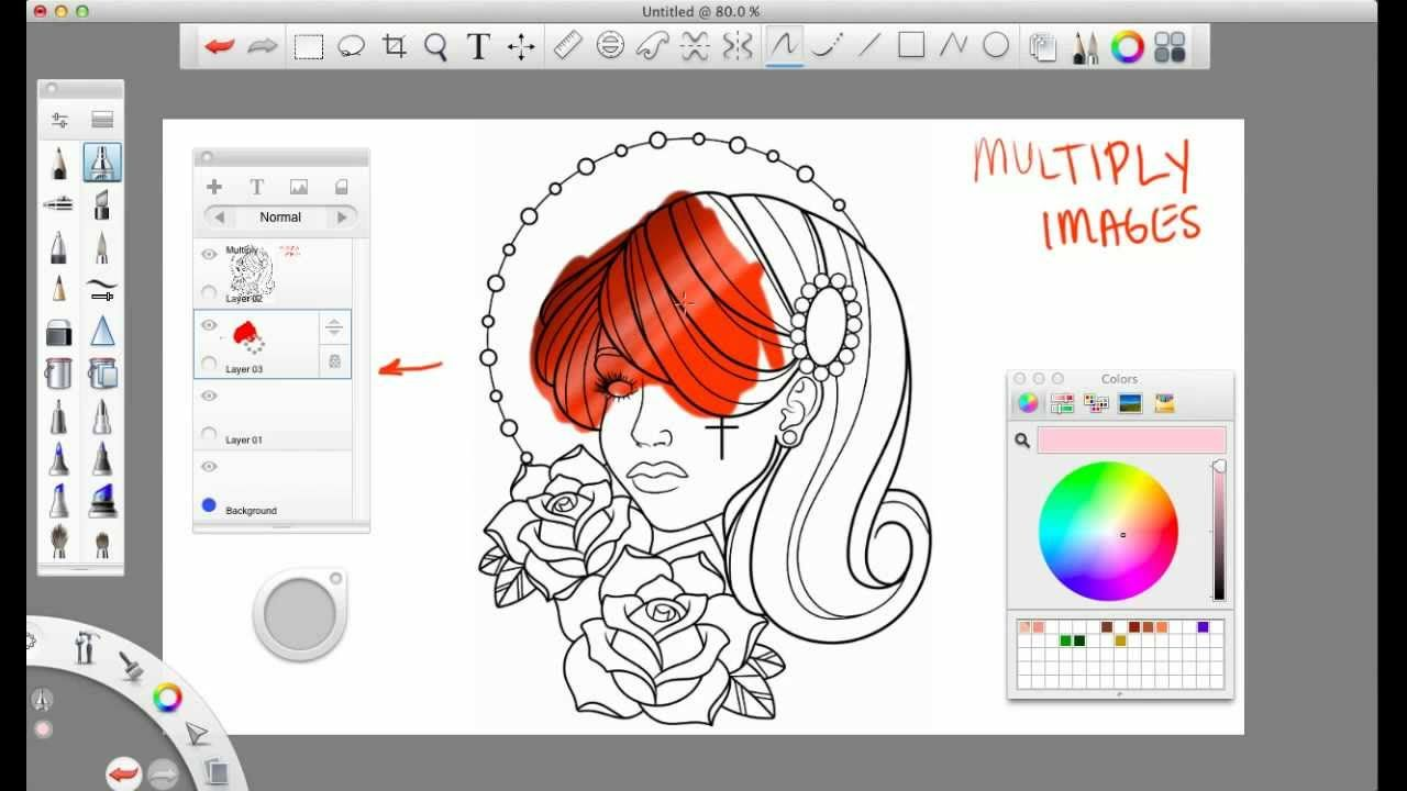 Basics Of Sketchbook Pro Updated Tutorial Autodesk Sketchbook