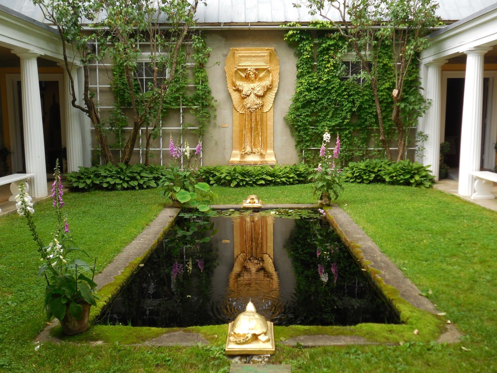 The Home Gardens And Studios Of Augustus Saint Gaudens Who Was One Americas Greatest Sculptors Is Only National Park In New Hampshire