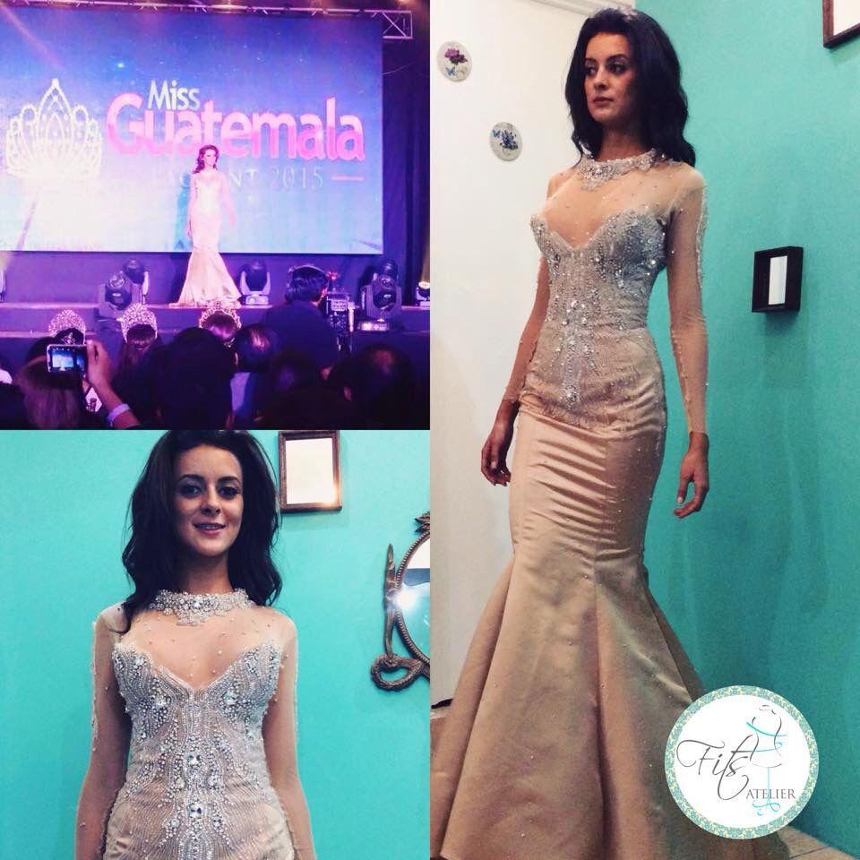 Vestido miss Guatemala | Vestidos confeccionados por FITS ATELIER ...