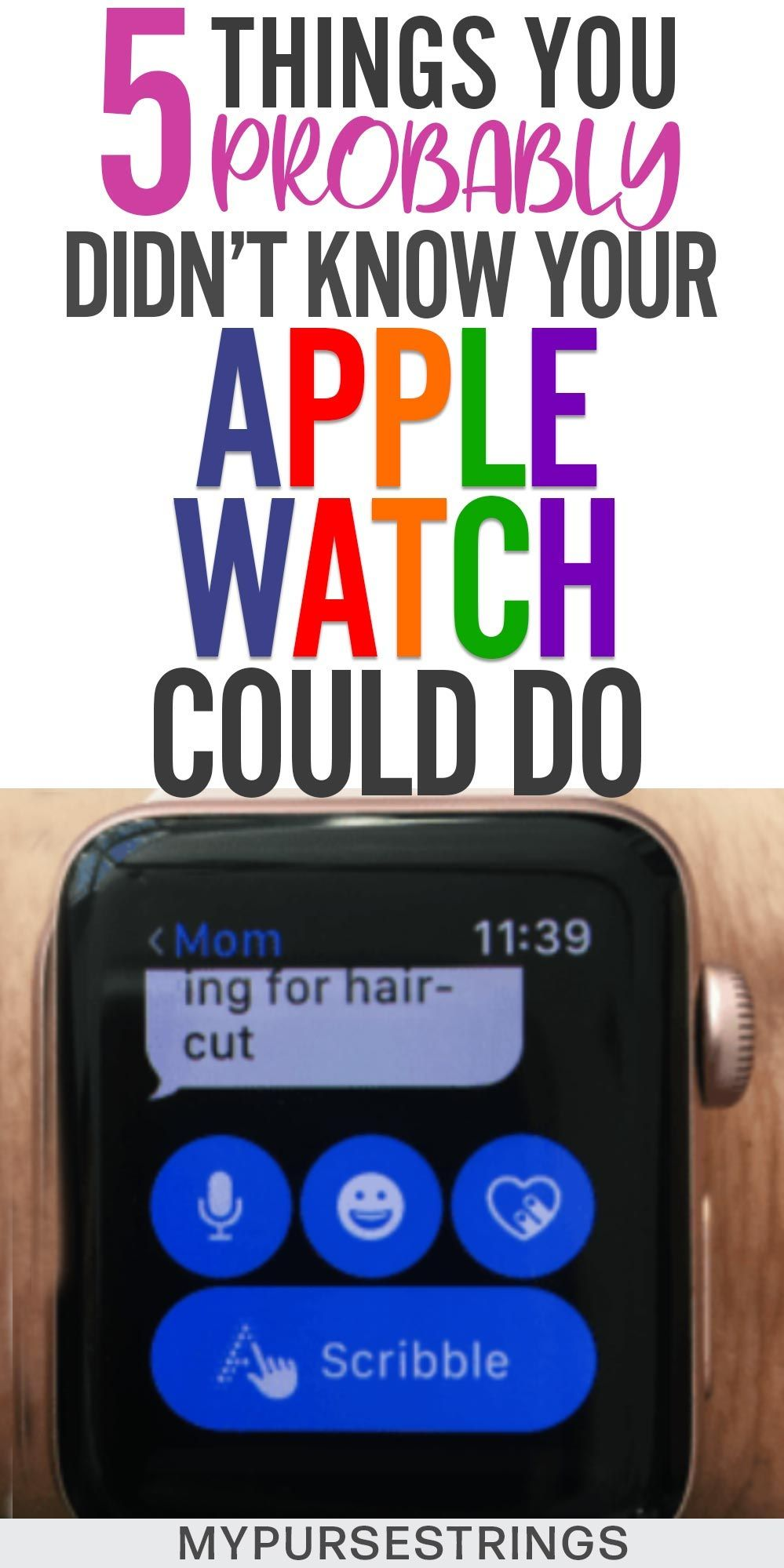 You probably didn't know your Apple watch was capable of these five things. These…