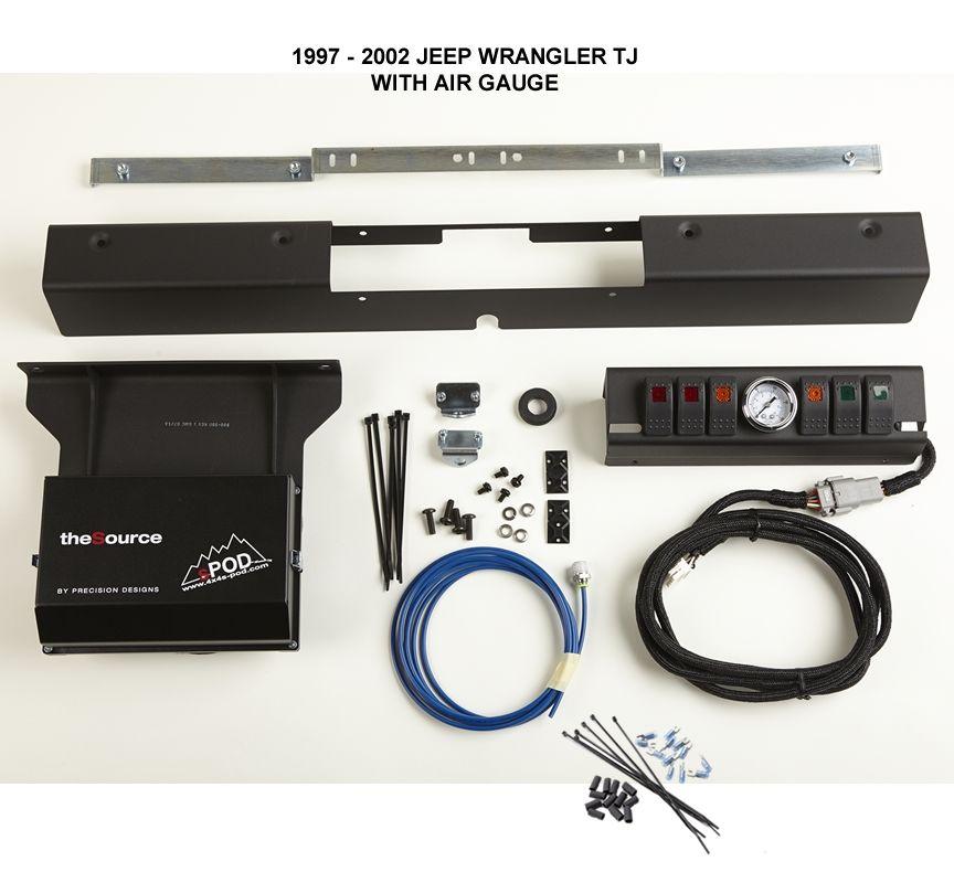 sPod TJ/LJ 6 Switch sPod (With images) Jeep wrangler tj