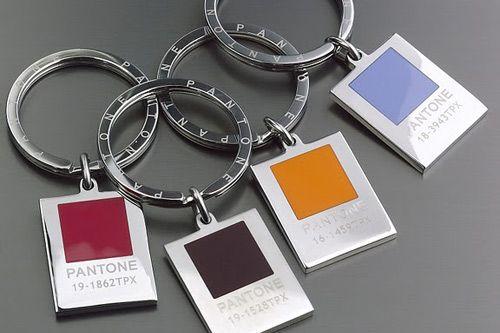 Pantone keychain