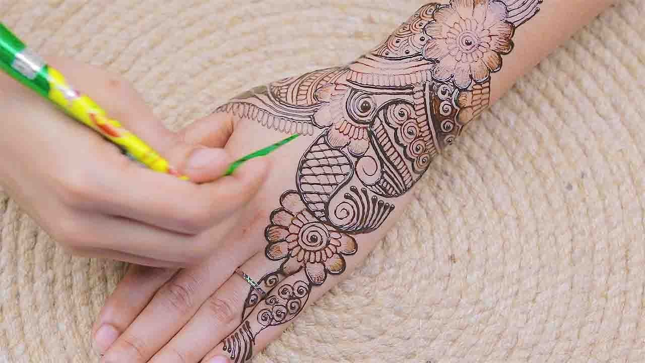 Full Hand Mehndi Designs Easy Back Side 2020 Full Hand Mehndi Design 2 Mehndi Designs For Hands Henna Mehndi Design Full Hand Mehndi Designs