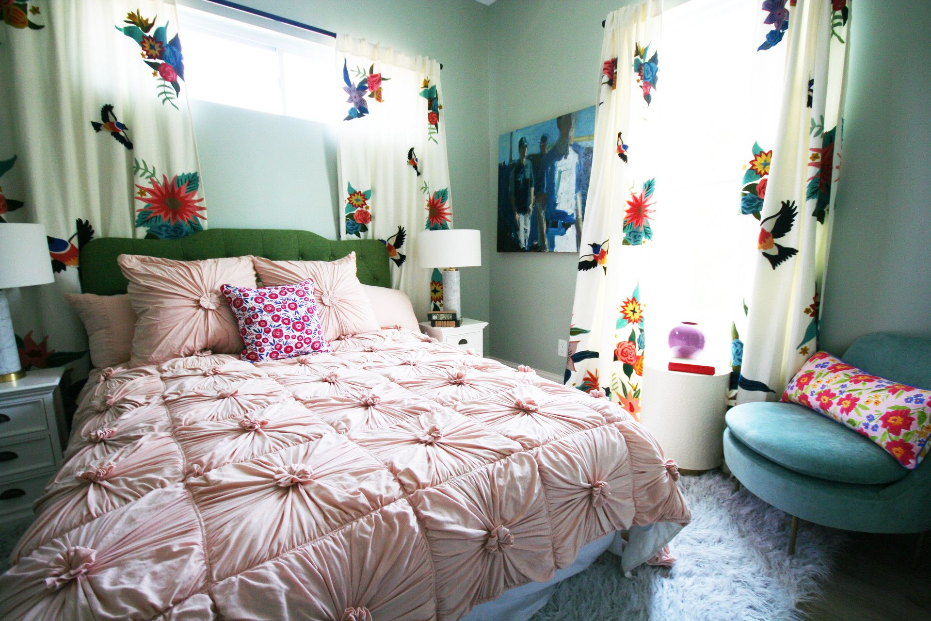This Colorful Charmer of a house was demoed and redesigned ...