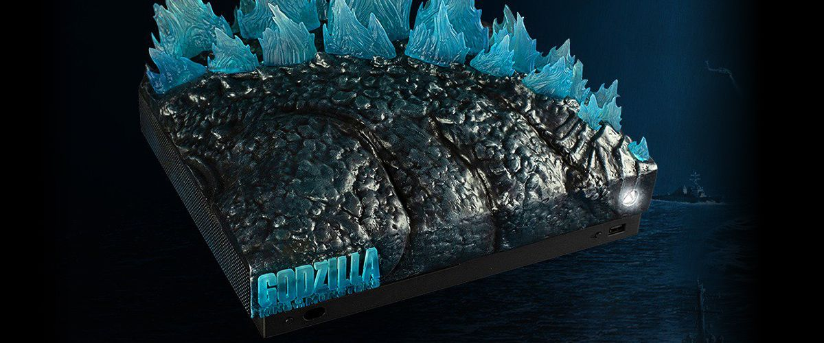 Microsoft Is Giving Away Godzilla: King Of The Monsters Custom Xbox One X Consoles To Kaiju Lovers #geekculture
