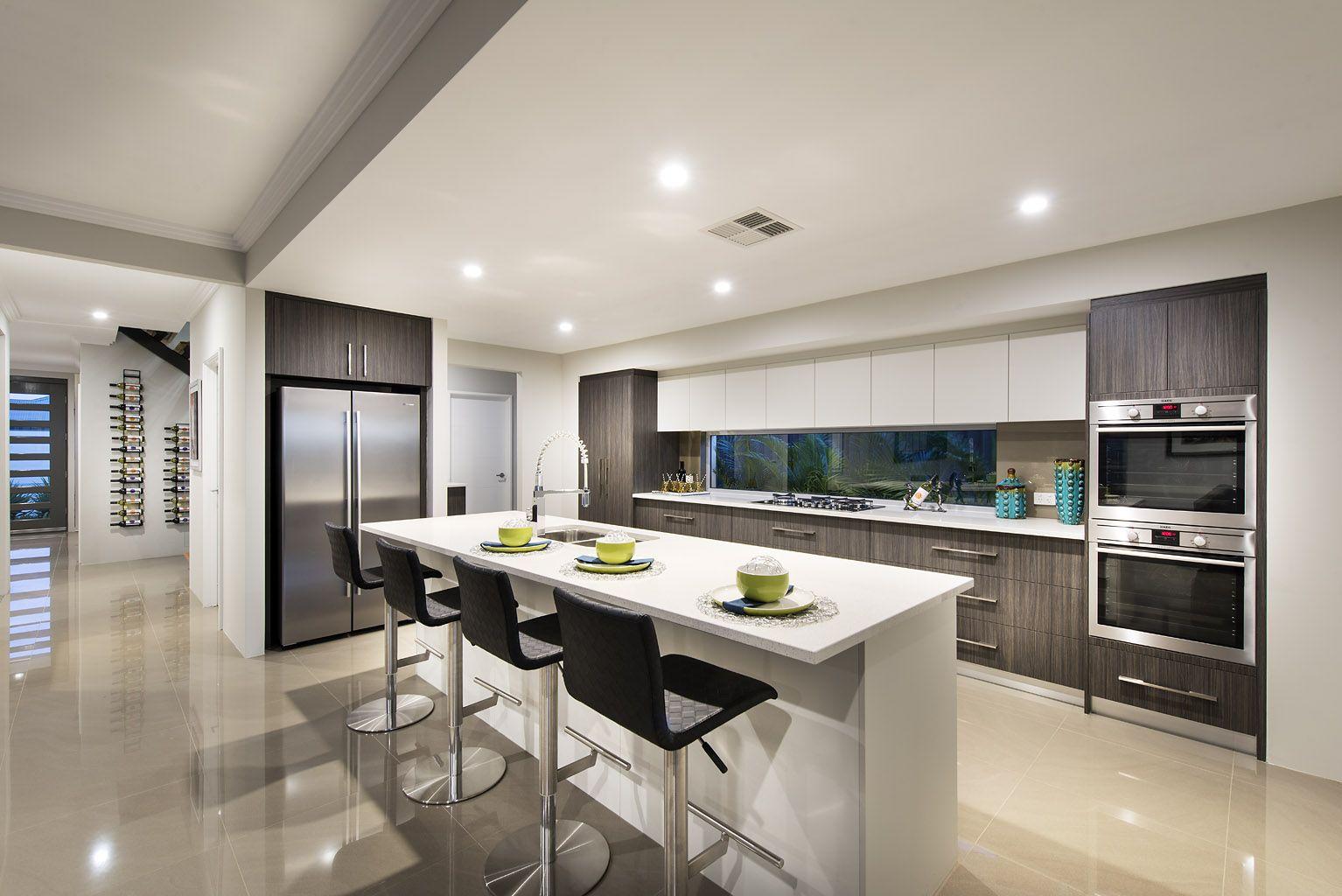 Stunning Open Plan Kitchens C Ben Trager Homes On Display In Perth Kitchen Room Design Kitchen Interior Modern Kitchen Design