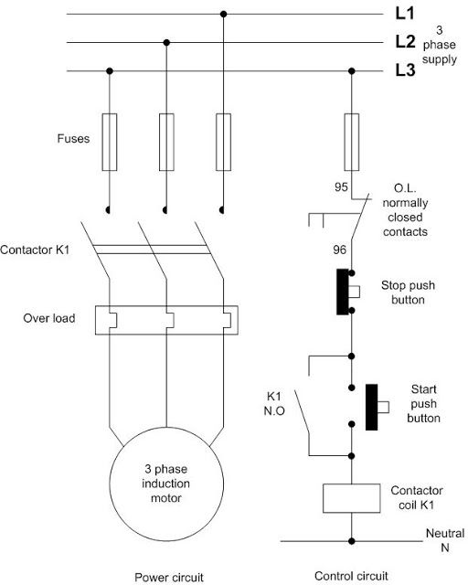 Great dol starter circuit diagram gallery electrical circuit delighted dol starter circuit diagram contemporary electrical asfbconference2016 Image collections