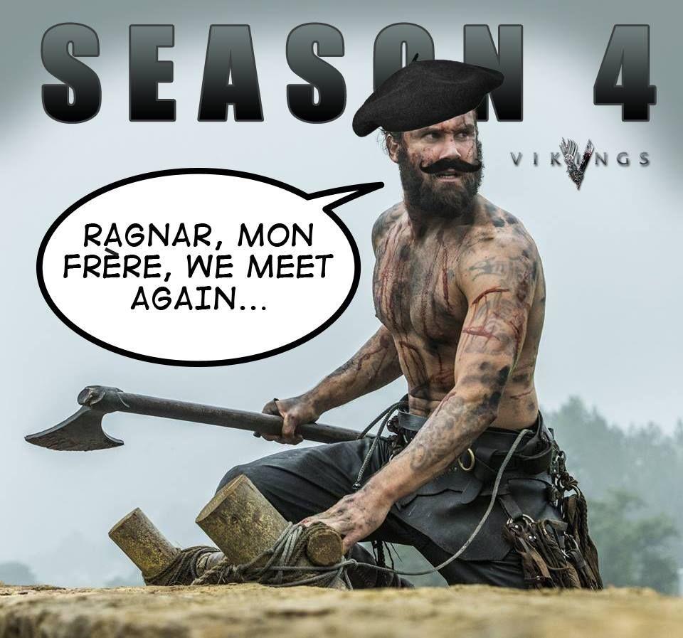 Rollo in Vikings season 4? :-)