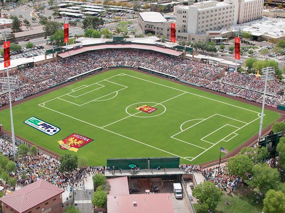 Scottsdale Stadium, new home of Arizona United Soccer Club
