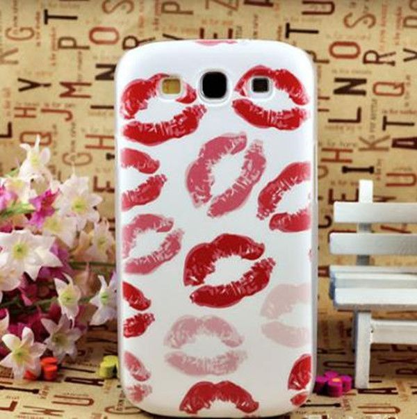Top Selling Multiple Patterns Tower/ Flower/ Lip/ Beautiful Back Skin Case Cover For Samsung S3 case/i9300 case EC287 EC239