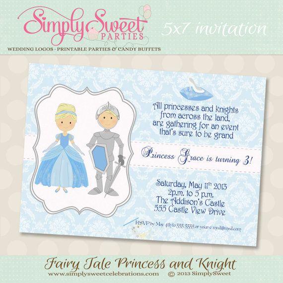 Princesa Cenicienta y Príncipe cumpleaños por SimplySweetParties