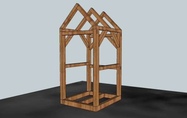 Hi All Relative Newbie Here Been Lurking For Quite A While And Am Taking My First Step Building A Timber Frame Outho Outhouse Simple Shed Shed Plans 12x16