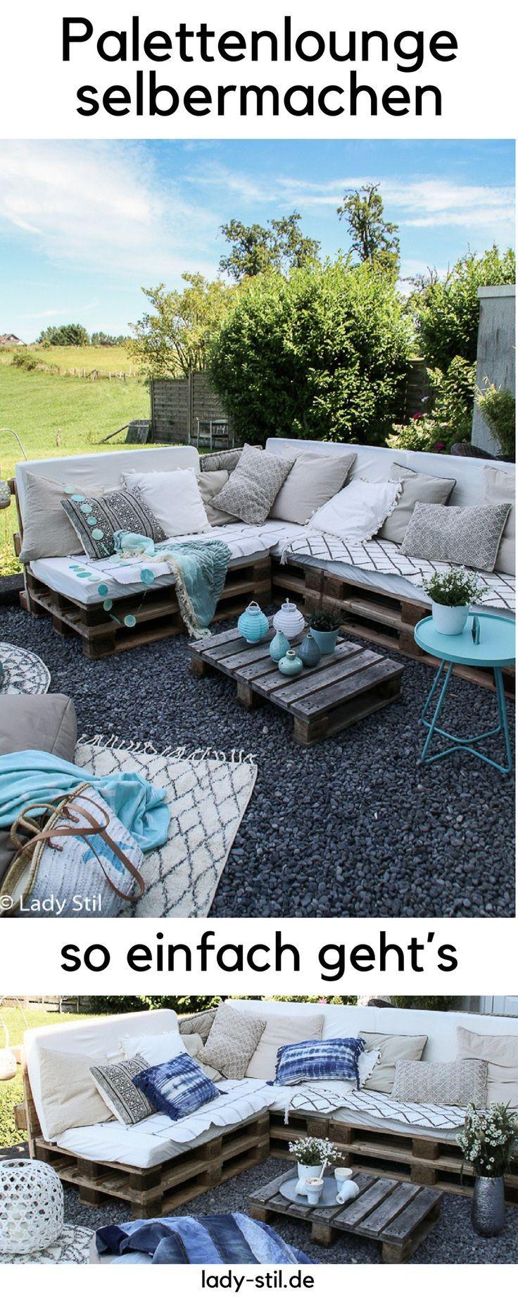 diy palettenlounge selberbauen so wird s gemacht. Black Bedroom Furniture Sets. Home Design Ideas