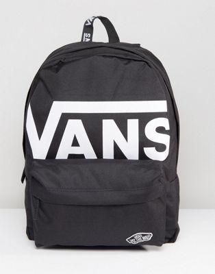 267efa515f4168 Vans Logo Realm Backpack