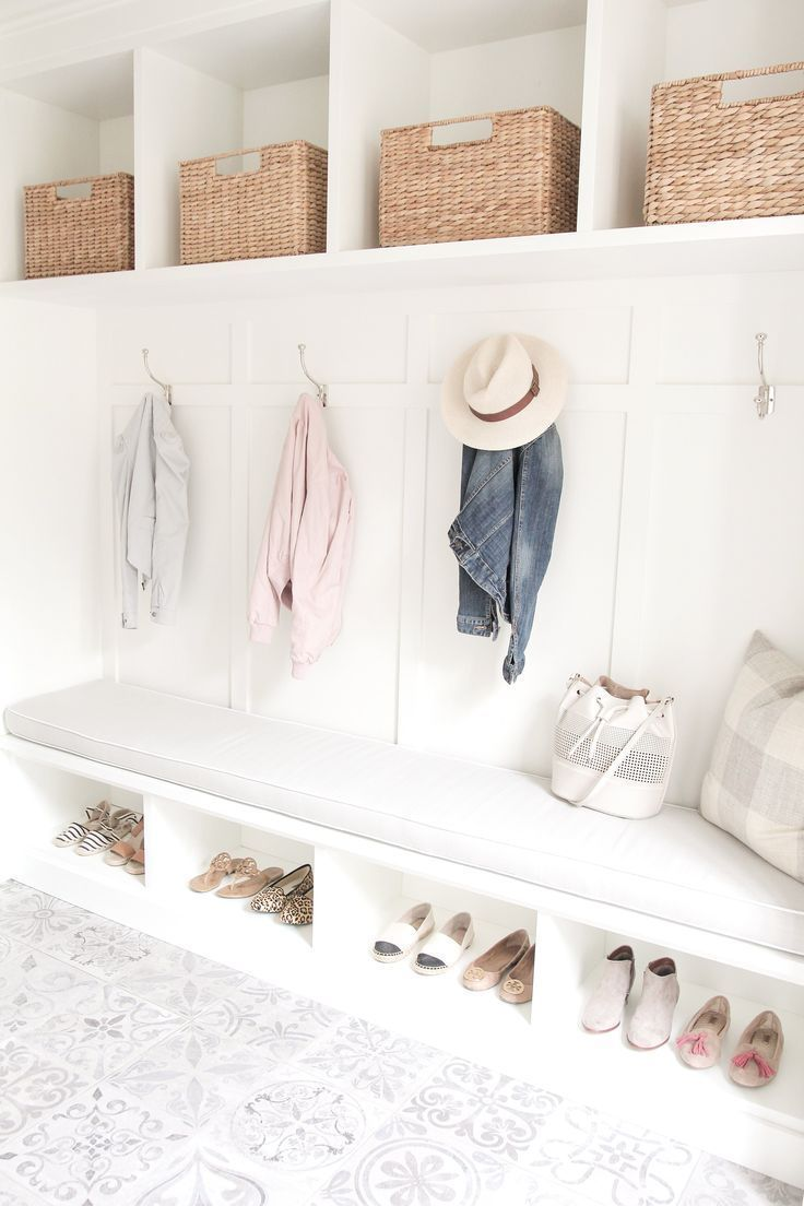 Photo of If You Love White Decor This Home Will WOW You  Mudrooms Mudrooms  #boho_coat_ra…