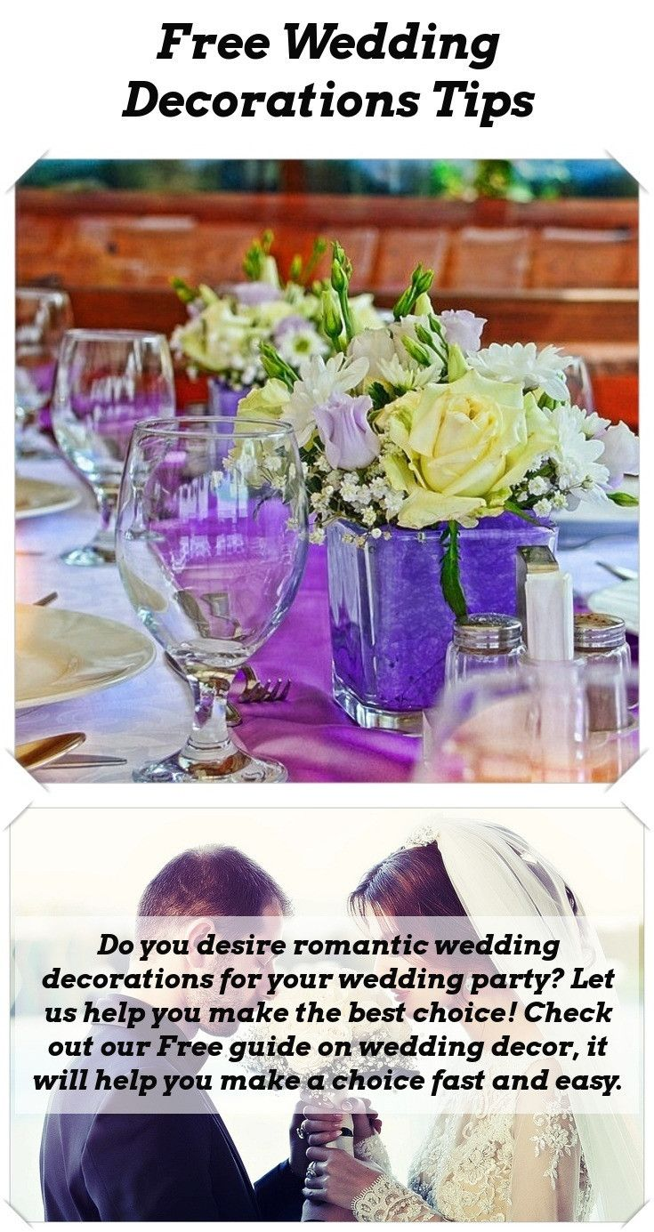 Wedding decorations simple  Ideas For Wedding Table Decorations  Pinterest  Table decorations