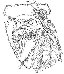 Birds of Prey Carving Pattern Pack by Lora S. Irish