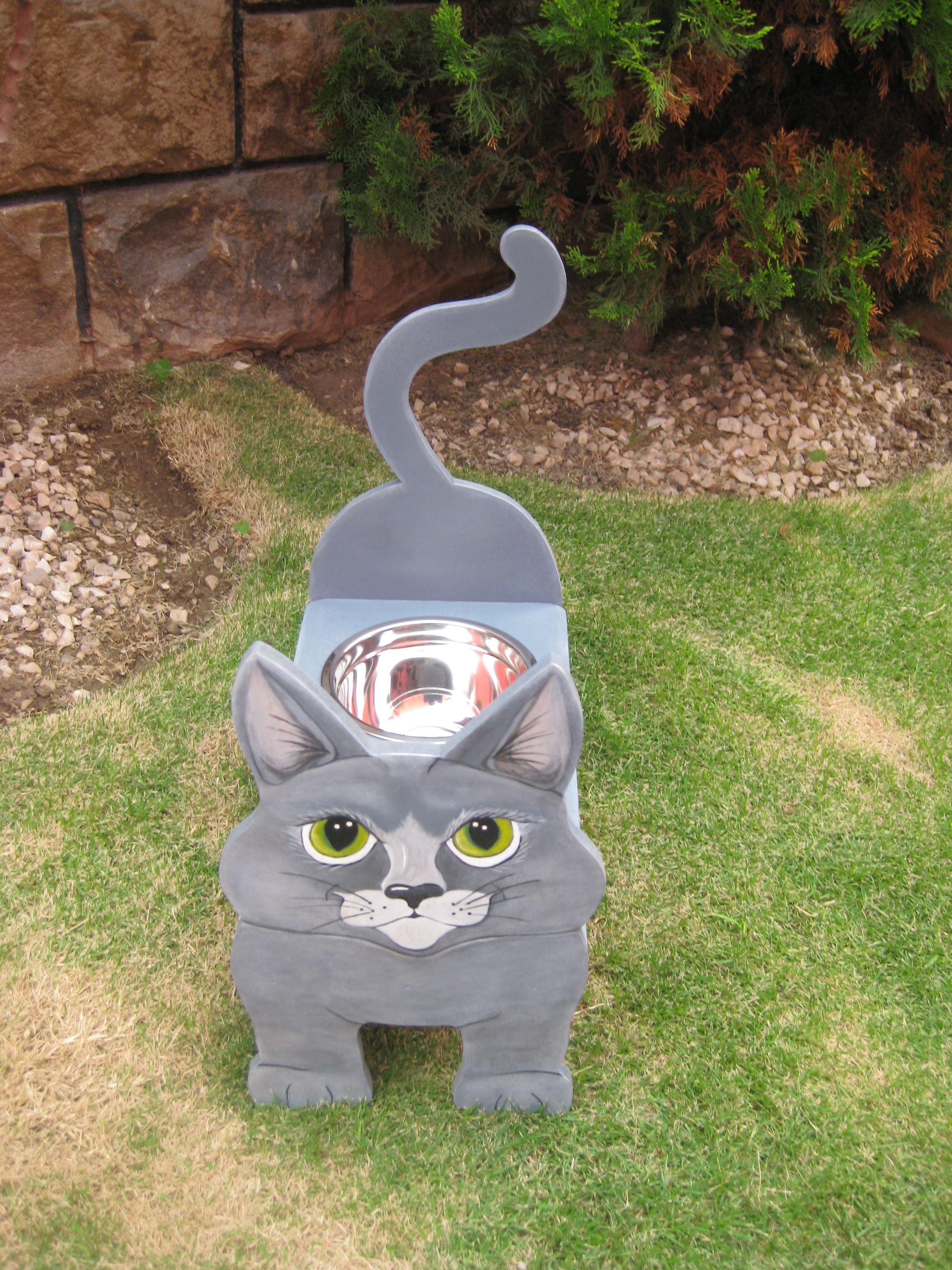Forma De Madera Mdf Gato Gatito Kitty Animal Decoración Hogar Meow Craft