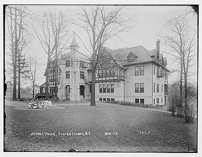 Photo Staten Isl. N.Y. Actor #39 s Home