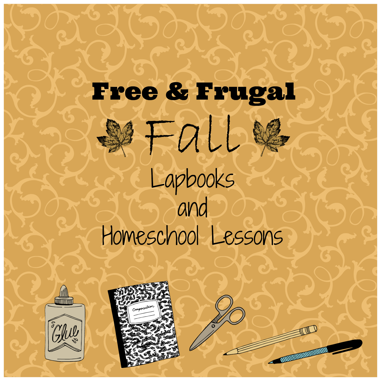 Free Amp Frugal Fall Lapbooks And Homeschool Lessons