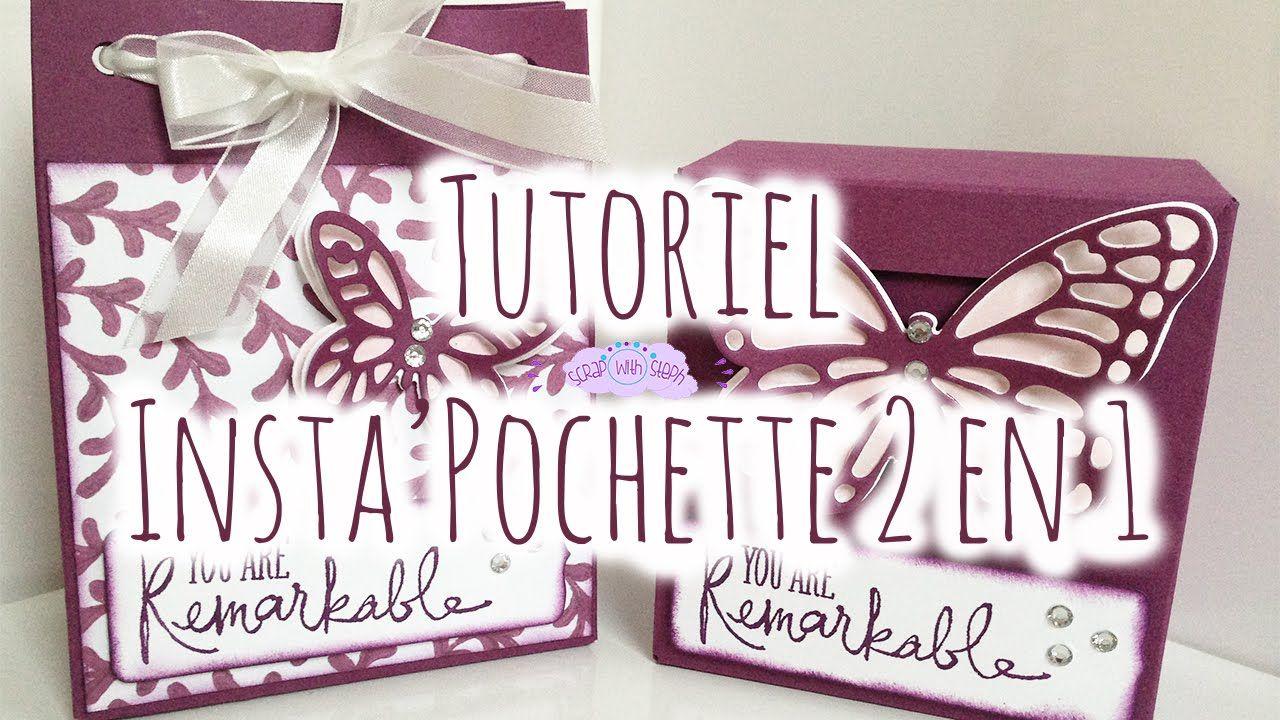 Tutoriel N 2 Insta Pochette Scrap With Steph Scrapplaisir Tutoriel Tuto Pochette